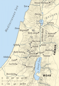 joshua map